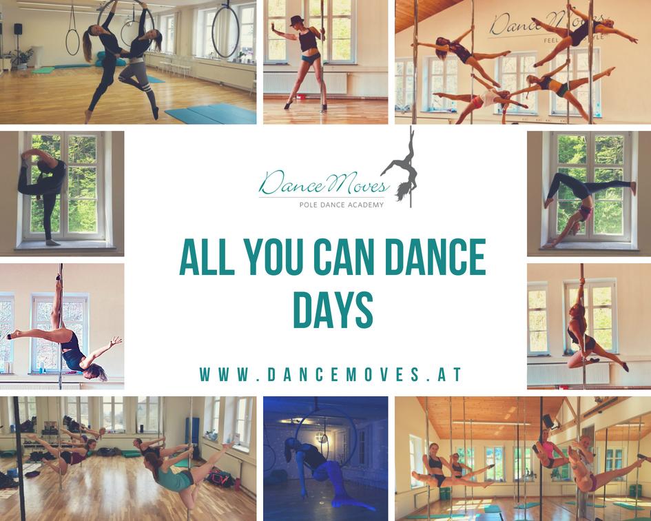 """Sommer, Sonne, Dance & Train! Freu dich auf viele Sommerspecials und die """"All you can dance"""" – Days!"""